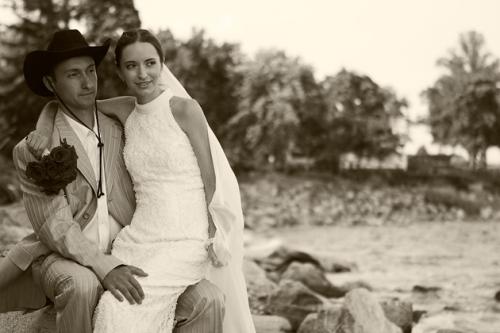 Classic wedding photograph